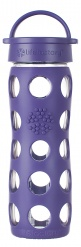 12oz/350ml Glass Bottle with Classic Cap - Royal Purple