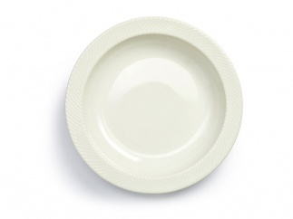 Coffee & More Serving plate white