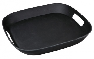 FOURSQUARE SERVING MATE tray BK