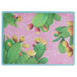 Country Life Placemat Pink In Polypropylene