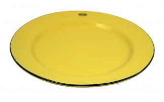BREAKFAST PLATE Yellow