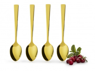 Spoon-4-pack gold