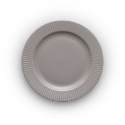 Lunch plate Ø22cm Legio Nova grey