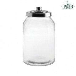 TUSCIA GLASS CONTAINER D16 H28,5 GB