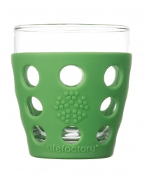 Lifefactory 10oz Beverage Glass - 2pk - Grass Green