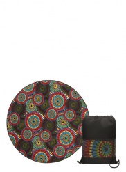 Caleido round picnic blanket