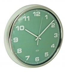 WALL CLOCK Vintage green