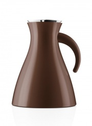 Vacuum jug 1.0l Coffee brown, short