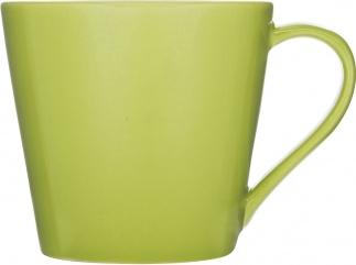 Brazil mugg, lime green