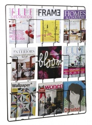Frame-9 Magazine Wallrack Bk