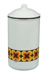 STORAGE JAR RAMONA Yellow