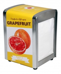 Cabanaz TISSUE DISPENSER GRAPEFRUIT