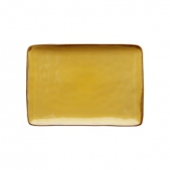 CONCERTO (Yellow) OCRA Rectangular Tray Ø 27 cm; W 19 cm