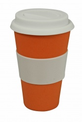 CRUISING TRAVEL MUG Pumpkin orange