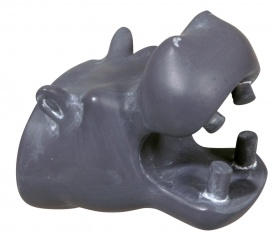 HIPPO wall hook CEMENT GREY