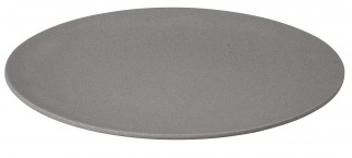 LARGE BITE plate Stone grey