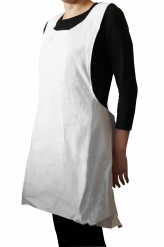 Moshi - Japanese kitchen apron - white