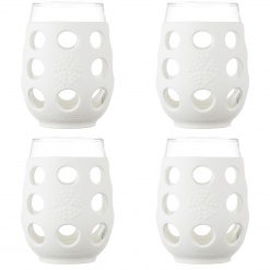 Lifefactory 17oz Wine Glass - 4pk - Optic White