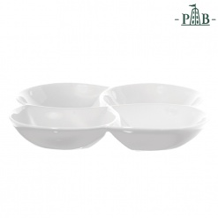 CONVIVIO SERVING PLATE 4 PARTS cm 26 GB