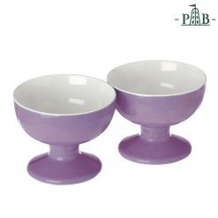 Convivio Set2 Footed Bowls D.9.5X7 Li Gb