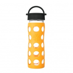 Lifefactory 16 oz Glass Bottle Core 2.0 - Marigold