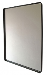 MIRROR WITH BLACK FRAME L60cm x W80cm