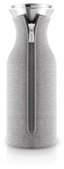 Fridge carafe 1,0 l, Light Grey woven