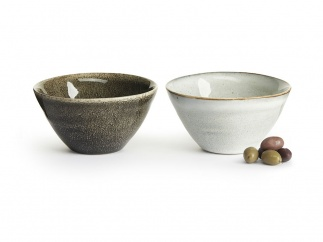 Nature serving bowl small 2-pack