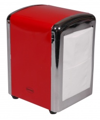Cabanaz TISSUE DISPENSER Red
