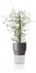 Self watering plant pot 13cm Nordic grey