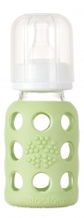Lifefactory 4oz Baby Bottle - Spring Green