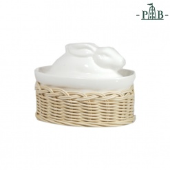 Wicker For Cass. Rabbit/Duck Lid Cm 10X7