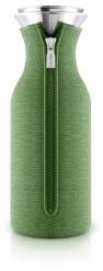 Fridge carafe 1.0l Botanic green woven