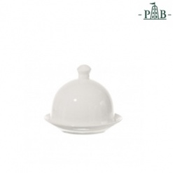 TERRINE COVERED BUTTER DISH dia. cm 9 GB