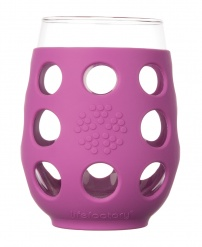 Lifefactory 11oz Wine Glass - Open Stock - Huckleberry