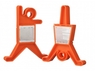 B-Dancer - Set Of 2 - Orange (021C)
