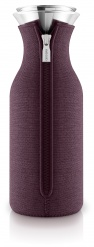Fridge carafe 1.0l Dark burgundy