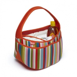 Baby Buddy: Essentials Caddy Baby Pink Stripe