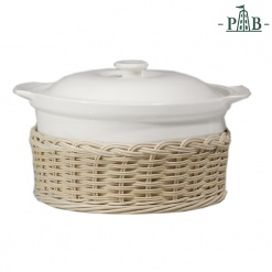 Wicker For Cortona Round Tureen W/L Cm28