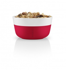 2 pcs. bowls Strawberry red