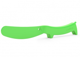 Wooof butter spreader - green