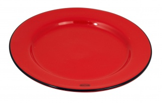 Cabanaz BREAKFAST PLATE Red