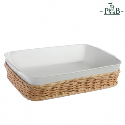 WICKER FOR RECT.BAKING DISH CM39X25(#)
