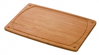 Chopping board AQUARESIST 38 x 26 cm, bamboo