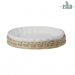Wicker For Ribbed Fruit Plate Cm 25