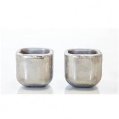 Stainless Steel Shot-Glass Cubes