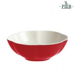 VILLADEIFIORI FRUIT BOWL CM 15 RED