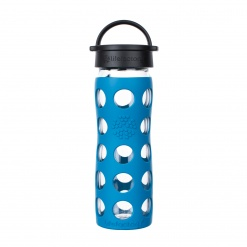 Lifefactory 16 oz Glass Bottle Core 2.0 - Teal Lake