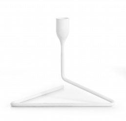 """Puzzle"" Candleholder Small White"