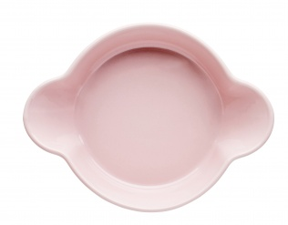Piccadilly Portion-sized dishes ovensafe 2-pack, pink